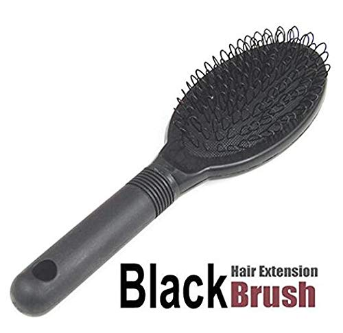 Hair Extension Loop Brush Black RUNFON