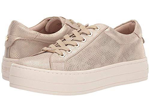 J Slides Women's Hippie Shoe, Gold Mini LUX, 8.5 Medium US
