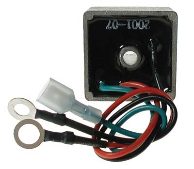 (Voltage Regulator E-Z-GO Gas Golf Cart 94-UP MPN 6153)