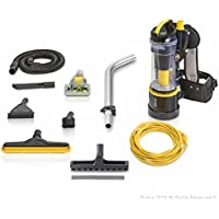 2018 Prolux 2.0 Commercial Bagless Backpack Vacuum with Deluxe 1 1/2 inch Tool Kit Pro Model