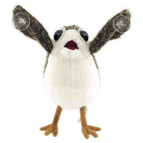 DiLi-Store S-D Plush Toys - Original Star Wars The Last Jedi PORG Bird Cute Plush Toy Doll Sucker to Car Birthday Gift 1 PCs