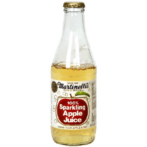 Martinelli's Sparkling Apple Juice, 10 Ounce (Pack of 12) (Juice Sparkling Martinellis Apple)
