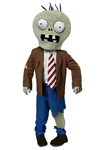 Toddler Plants Vs Zombies Zombie Costume 4T