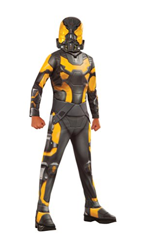 Ant-Man Yellow Jacket Costume, Child's Medium (Super Villain Costumes For Men)