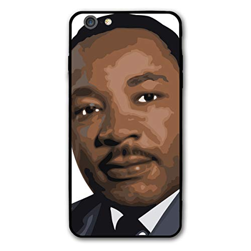 (MLK Martin Luther King Portrait Mugshot iPhone 6splus 6 6s Plus 6plus Theme Cover Decorative Mobile Accessories Ultra Thin Lightweight Shell Pattern Printed)