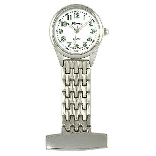 Ravel R1101.02 - Reloj Unisex de Cuarzo, Correa de Caucho Color Negro