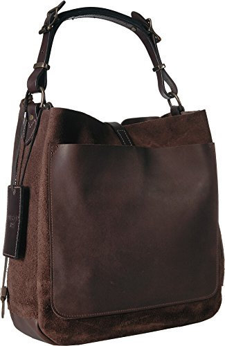 Filson Rugged Unisex Hobo Dark Tobacco Suede 4FZfx