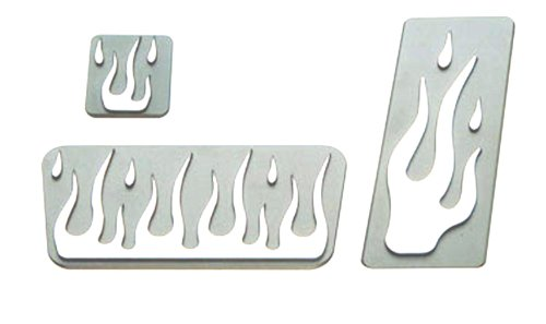 All Sales 50F Pedal Pad Kit, (Pack of 3)