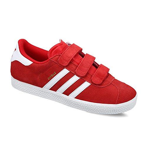 adidas Gazelle 2 Cf Enfant Rouge Rouge 33