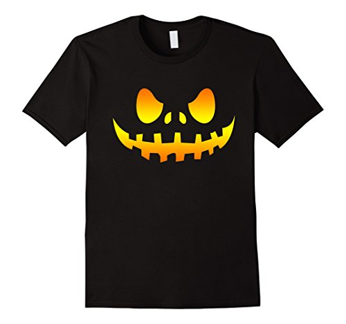 Mens PUMPKIN FACE T SHIRT