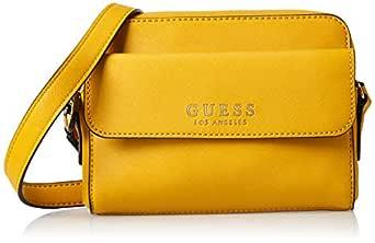 GUESS Womens Cross-Body Bag, Yellow - VG745314
