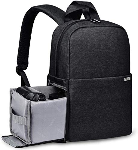 Krisyo Caden L4 Camera Backpack for DSLR Cameras with 14 inches Laptop Compartment – Anti Shock – Waterproof – Breathable