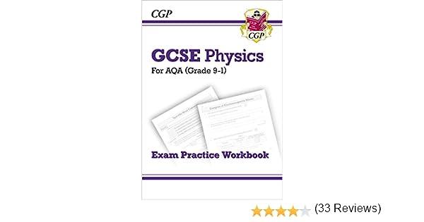 Cgp Books: Grade 9-1 GCSE Physics: AQA Exam Practice Workboo ...