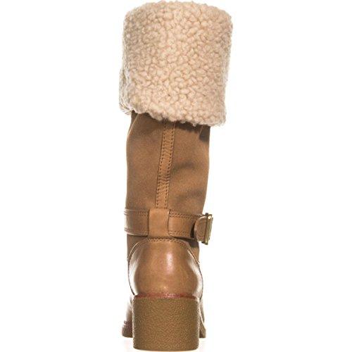 Toe Mid Camel Weather Natural Coach Parka Cold Calf Closed Womens Boots xqwtzIp