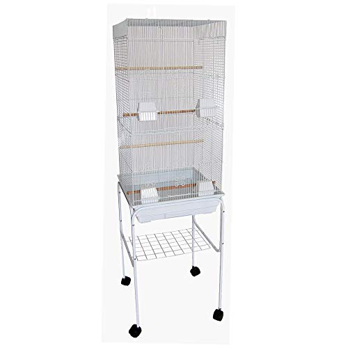 (Brand New Dog Cat Pet Kennel Travel Crate Cage Carrier Z100M-Blue)