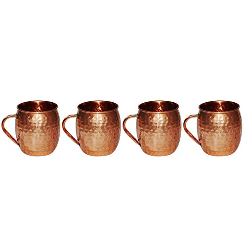 Buy moscow mule copper cups no handle