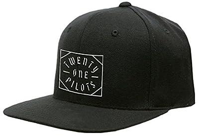 21 Twenty One Pilots Baseball Cap Goth Square Logo Official Black Snapback