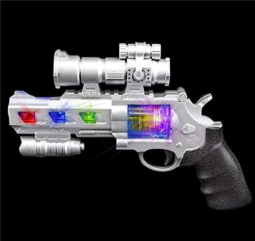 Rhode Island Novelty Light-Up Space Revolver w Sound 9
