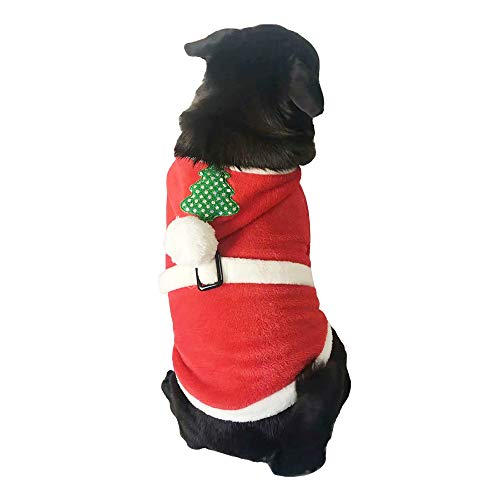 Suma-ma Promotion Xmas Costume Coat for Dog Cat - Pet Puppy Hoodie Sweatshirt Outfit