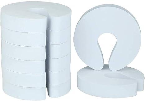 Limewie 10 Pack guardias de dedo sujetador bebé puerta tapón de la puerta de Espuma Tapón de dedo
