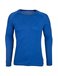 Mountain Warehouse Talus Mens Long Sleeved Round Neck Top Cobalt Large