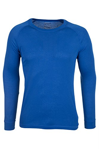 mountain-warehouse-talus-mens-long-sleeve-tee-shirt-baselayer-round-neck-cobalt-medium