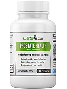 Prostate Support - Natural Supplement for Prostate Health, Bladder Relief and Improved Urinary Flow - With Saw Palmetto, Pygeum & Beta-Sitosterol - 60 Vegetarian Capsules