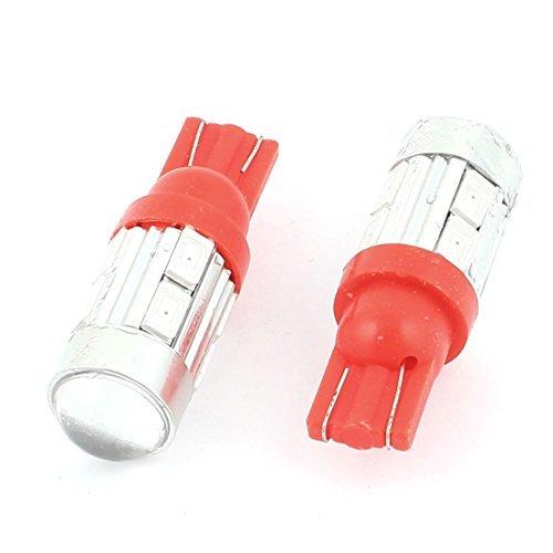 eDealMax 2pcs T10 5630 SMD 10 del panel de LED de luz la ...
