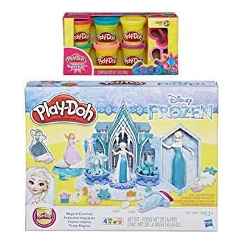 Amazon Com Pd Play Doh Disney Frozen Magical Fountain