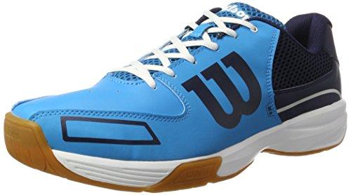 Wilson Niveles Tejido Todos Juego de Tenis Storm Azul Claro Azul sintético Unisex Zapatillas los Interior 4wF4R