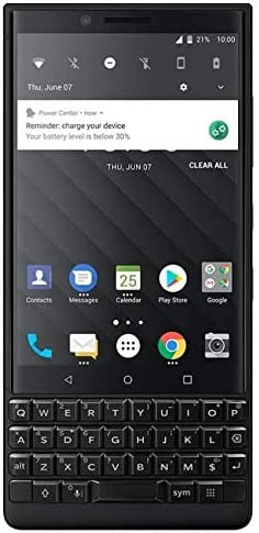 BlackBerry KEY2 Silver Unlocked Android Smartphone (AT&T/T-Mobile) 4G LTE, 64GB 41ZmVt-WVLL