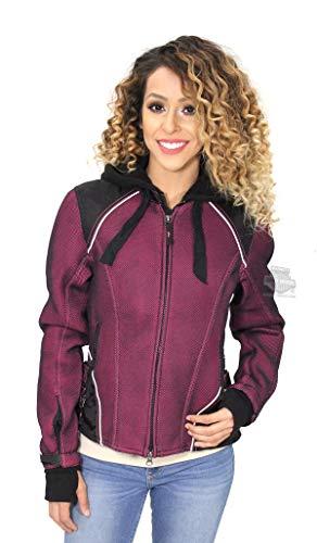 Harley-Davidson Womens Pink Label 3-in-1 Mesh Reflective Black Functional Jacket 98319-17VW (2X)