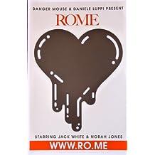 Dangermouse and Daniele Luppi - Rome - Rare Advertising Poster - 11x17 - Jack White - Norah Jones