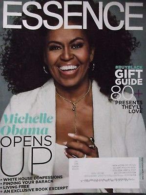 Essence Magazine December 2018 Michelle Obama