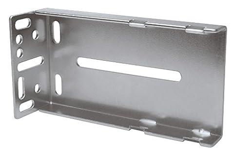 2 Pack Rok Hardware Rear Mounting Brackets for Ball Bearing Drawer Slides - Hardware Bracket
