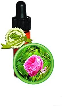 Rose Essential Oil (Rose Otto) from Bulgarian Rose - 100% Pure Rosa Damascena- 1 DRAM (1/8oz) - Undiluted, No Solvent
