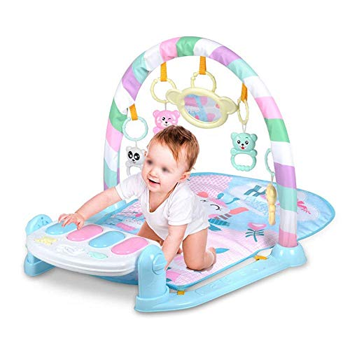 RANRANJJ Super Deluxe Activity Gym Play Mat, Newborn Pedal Piano Music Blanket Children Puzzle Baby Early Education Fitness Rack Toy Multi-Functional 0-1 Years Old (Not For A Moment Piano Sheet Music)
