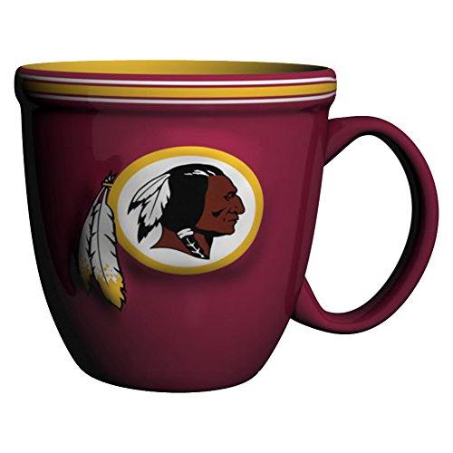 NFL Washington Redskins Bistro Mug, 15-ounce, Burgundy