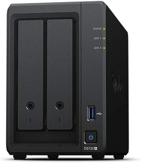 Synology DS720+ 2Bay - Servidor NAS: Amazon.es: Informática