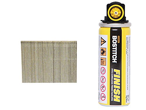 Bostitch 16G38FC 38mm Galvanised 16 Gauge Straight Finish Nails and Fuel...