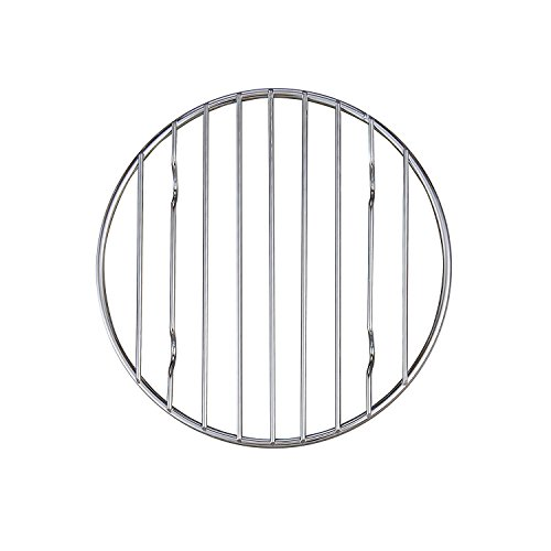 Dutch Oven Rack - Mrs. Anderson's Baking 43193 Professional Baking and Cooling Rack, 6-Inches Round, Chrome-Plated Steel Wire