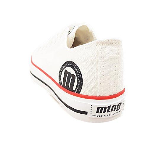 MTNG Bamba chica - Zapatillas de deporte unisex, color canvas blanco, talla 40