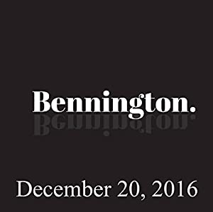 Bennington, Pamela Adlon, Louie Anderson, December 20, 2016 Radio/TV Program