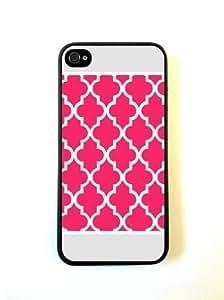 Hot Pink Ornate Border iphone 5s Case - For iphone 5s - Designer TPU Case Ver...