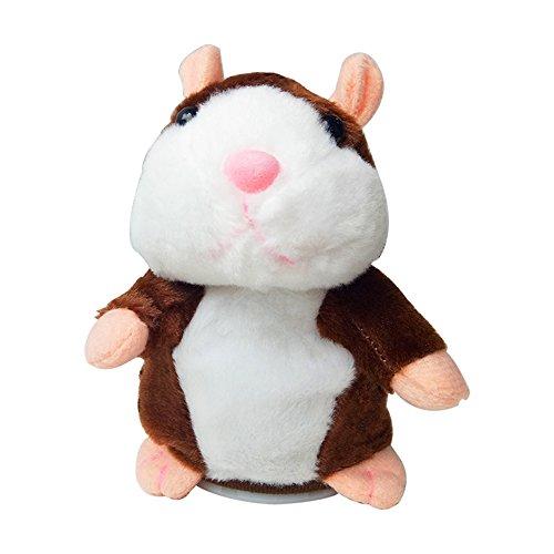 Fanme Talking Hamster Electronic Pet Talking Plush Toy Repea