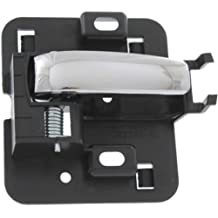 MAPM Premium Quality GRAND PRIX 04-08 FRONT DOOR HANDLE LH, Inside, Zinc Chrome Lever+Black Housing