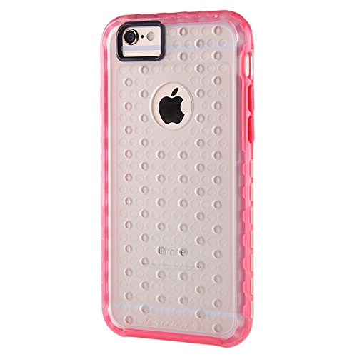 (HS-TOP  ® NILLKIN case cover soft candy Conque Back cover Hülle für Apple iPhone 6 (4,7 Zoll), Rosa