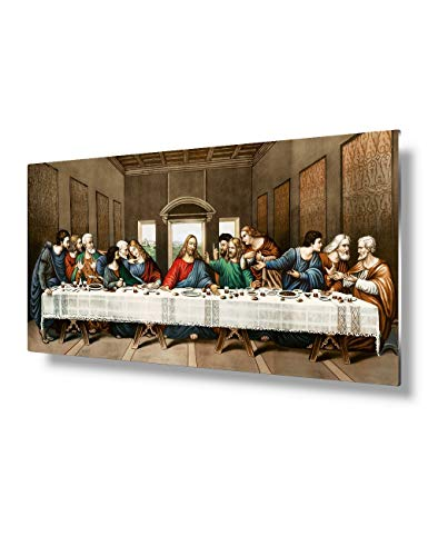 VickyArt Leonardo Supper Christian Decor 24%C3%9712 product image