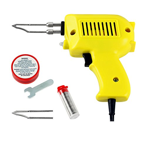 100w Ul Soldering Gun (Generic US0525001 Dorman UL-Listed 100-Watt Soldering Gun Kit 2 Tips Solder Flux - Gets Hot Fast! {8%0309?1})