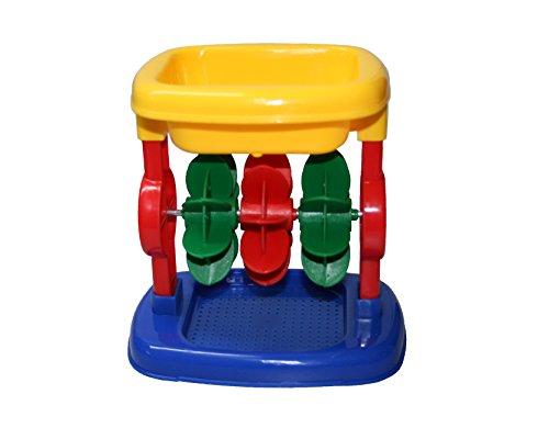 Sand-/Wassermühle mit 3 Rädern, Strandspielzeug, Sandkastenspielzeug, für Kin...